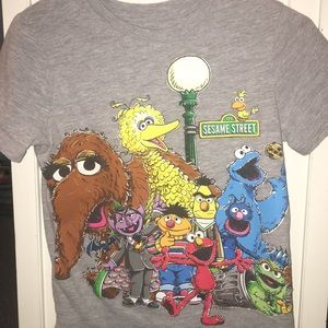 Cute baby Gap Sesame Street shirt